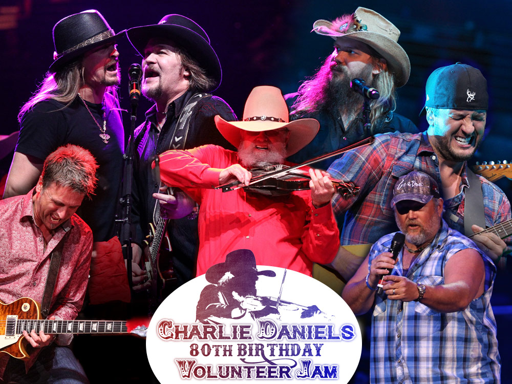 Charlie Daniels 80th Birthday Volunteer Jam Celebrates a Night of Great Music for a Worthy Cause [Photo Gallery]